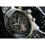 Months Jaragar Tourbillon Automatic Watch 20mm Strap Width