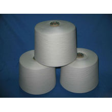 polyester yarn raw white sd 80s/2