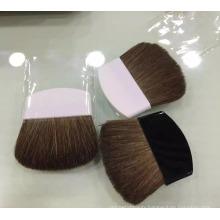 Half Round Handle Pony Hair Flat Blusher Brush Blush Brush