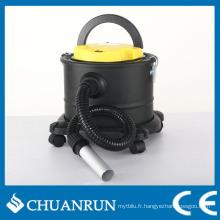 Aspirateur de cendres 15L avec roues pour poêles à granulés
