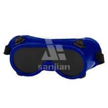 Soldadura Ojo Protector Bifocal Niebla Libre PC Lente Interior PVC Marco Gafas de Seguridad