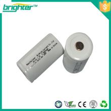 1.2v ni cd d tamaño de la batería recargable