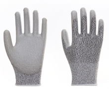 Durable Cut Resistance PU Coated Work Gloves