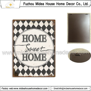 Classic Retro Home Decoration Metal Plaque