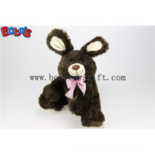 "11""Dark Brown Cute Bunny Stuffed Animal Toy in Wholesale Pirce Bos1147"