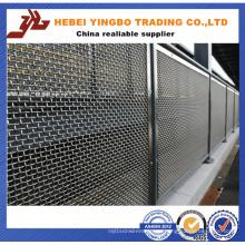 Cerca-20 1.03-2.4m altura pulida Galvanzied hierro valla de metal