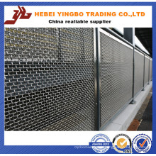 Fence-20 1.03-2.4m Height Polished Galvanzied Iron Metal Fence