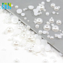 loose plastic half pearl beads for iphone FP05
