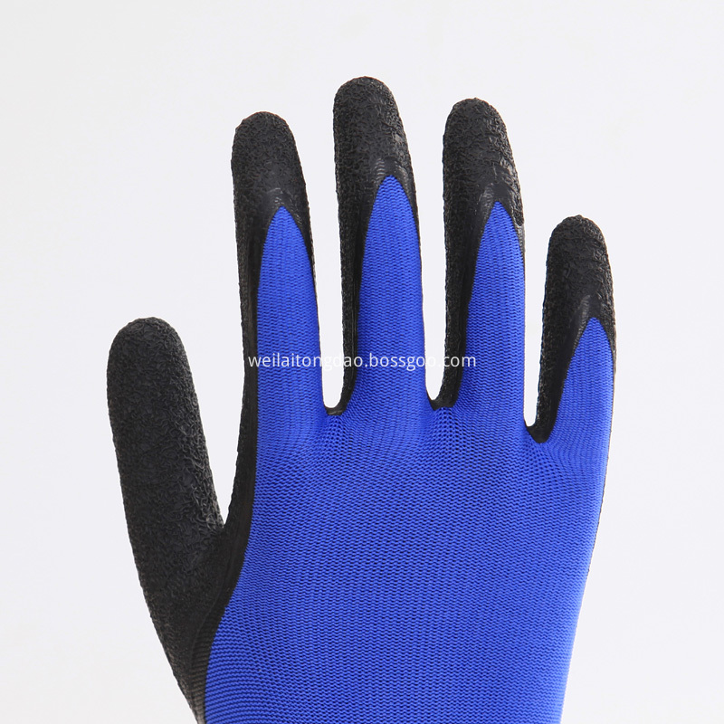 Latex Rubber Coated Gloves