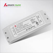 ETL listados 0-10v led driver led dimmable 300ma 23w para downlight