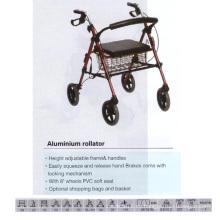 Aleación de aluminio Rollator con asiento