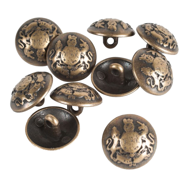 Fashion High-Grade Metal Button Embellishments