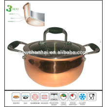 3 Ply Composite Material Copper Apple Saucepot Sc199