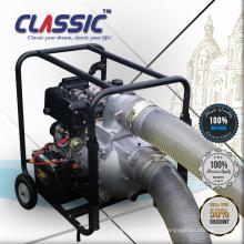 CHINA CLÁSICA Bomba de agua eléctrica de 6 pulgadas, bomba de agua de gran alcance de la irrigación de la granja, motor 12hp Bomba de agua diesel