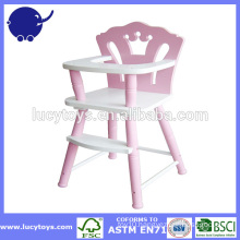Vintage non toxic Paint Wooden High chair