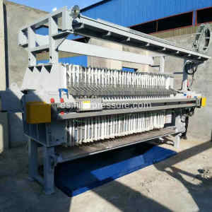 Plate Squeezing Filter Press for Drilling Fluid