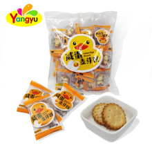 China High Quality Salted Egg Malt Biscuits