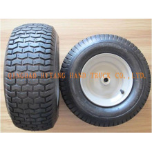 rubber wheel 6.50-8 steel rim