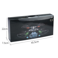 2.4 GHZ remote control uav 0.3MP Wifi camera FPV real-time transmission 360 flip