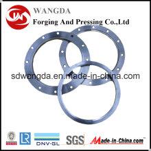 Brides forgées de tuyau d'acier inoxydable de cou de la soudure ANSI B16.5 S310s