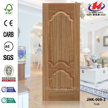 China Teak Wooden Big Single Interior Closet Door Manufacturers