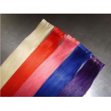 Extensions de cheveux humains de bande lumineuse de couleur claire 100% remy