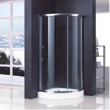 Arc Shape Tempered Glass Shower Enclosure