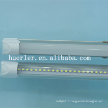 Hot selling 100-240v 5w 10w 15w tube 0.6 1.2m tube led t5 2 ans de garantie