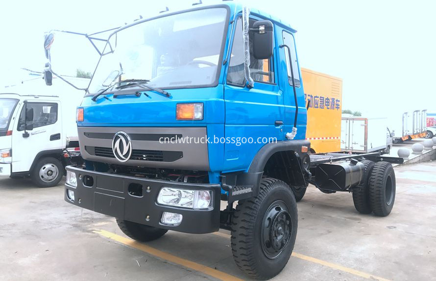 road wrecker truck chassis 1