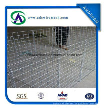 Mil6 6624 Hot Dipped Galvanized Hesco Barrier