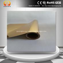 Película de poliéster metalizada dorada para laminación térmica