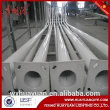 6m 8m 10m 12m gebogener Arm Stahl Straßenleuchte und Pole