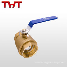 self closing plated brass mini cooper ball valve 1