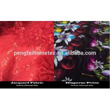 180Т 100% полиэстер микрофибры ткань постельных принадлежностей ткань