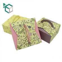 Gift Box Luxury Handle Paper Cake Box Wedding Cake Packaging Box for Bake