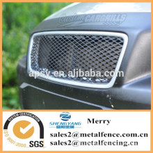 anodized aluminum mesh grill for car