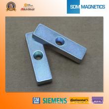 Imanes de sensor de neodimio de bloque N45h para Sw