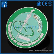 Изготовленный на заказ металл chellenge пешие походы сувенир тайника монеты