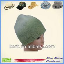 Chapeau en tricot en laine d'hiver Angora et en laine d'hiver, LSA20