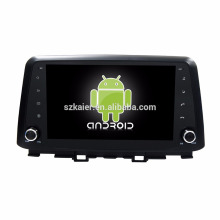 Octa core! Android 7.1 car dvd for Hyundai Kona 2017 with 9 inch Capacitive Screen/ GPS/Mirror Link/DVR/TPMS/OBD2/WIFI/4G