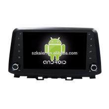 Восьмиядерный! 7.1 андроид автомобильный DVD для Hyundai Кона 2017 с 9-дюймовый емкостный экран/ сигнал/зеркало ссылку/видеорегистратор/ТМЗ/кабель obd2/интернет/4G с