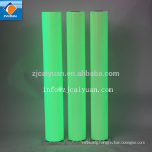 CY Single Sided Adhesive Side and PVC Material Glow in the Dark Film