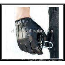 men genuine leather car driving glove