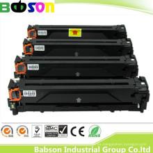 Cartucho de tóner genuino compatible para HP CF210A, CF211A, CF212A, 213A Precio favorable / entrega rápida