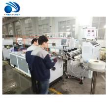 Maquinaria cónica da extrusão da extrusora da tubulação do perfil do PVC WPC