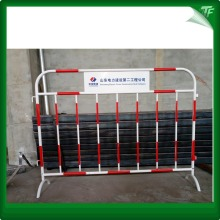 Galvanized crowd comtrol barrier steel pagar