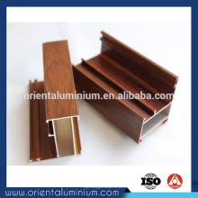 Armário de madeira de madeira de grão elegante