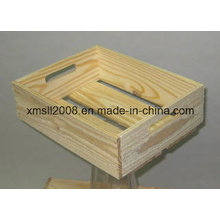 Holz-Kiste-Store Display Rack