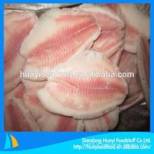 Prix du filet de tilapia congelé de la meilleure qualité