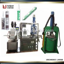 Máquina caliente del lacre para el embalaje del silicón de la salchicha